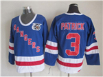 New York Rangers #3 James Patrick CCM 75th Blue Jersey