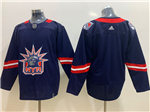 New York Rangers Navy 2020/21 Reverse Retro Team Jersey