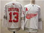 Detroit Red Wings #13 Pavel Datsyuk White 2020/21 Reverse Retro Jersey