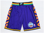 NBA 1995 All Star Game Eastern Conference Purple Hardwood Classic Basketball Shorts