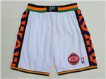 NBA 1995 All Star Game Western Conference White Hardwood Classic Basketball Shorts