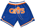 Cleveland Cavaliers Just Don Blue Basketball Shorts