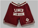 Lower Merion High School Just Don #33 Kobe Bryant Red Basketball Shorts