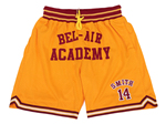 The Fresh Prince of Bel-Air #14 Will Smith Bel-Air Academy Basketball Shorts