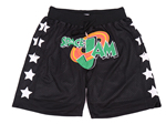 "Space Jam Just Don ""Space Jam"" Black Basketball Shorts"