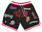 "NBA Western Conference Just Don ""Western"" Black Basketball Shorts"