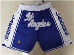"Los Angeles Lakers Just Don ""Los Angeles"" Blue Classic Basketball Shorts"
