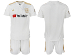 Los Angeles FC 2018 Away White Soccer Jersey