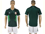 Mexico 2018 World Cup Home Green Soccer Jersey with #9 R.Jimenez Printing