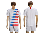 USA 2018/19 Home White Soccer Jersey