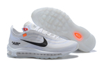 Men's/Women's Off-White x Air Max 97
